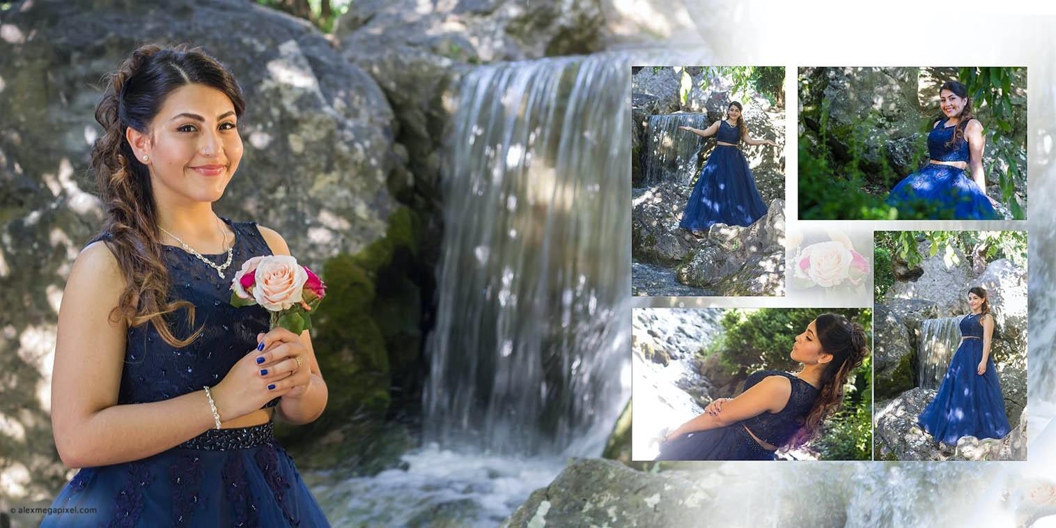 bonita quinceañera fotos