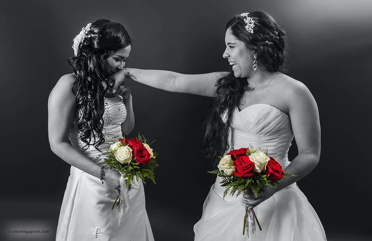 boda lesbiana 2 novias