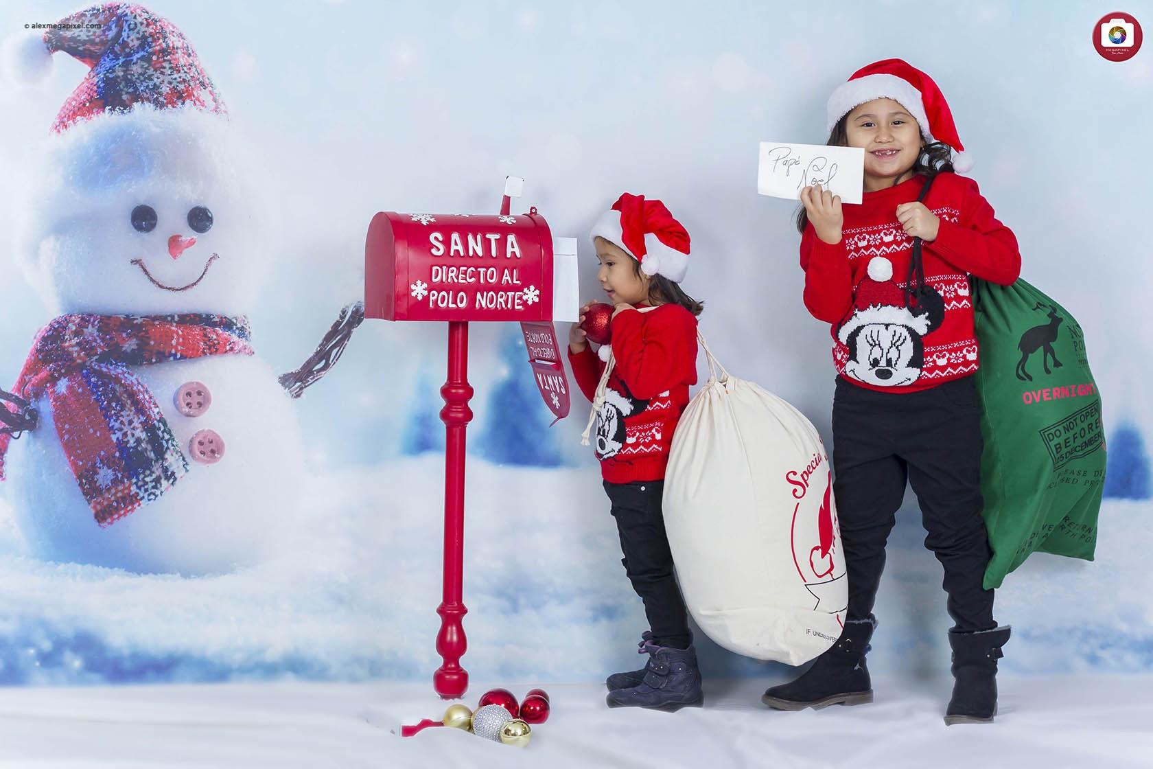 Fotos familiares de Navidad en Pamplona