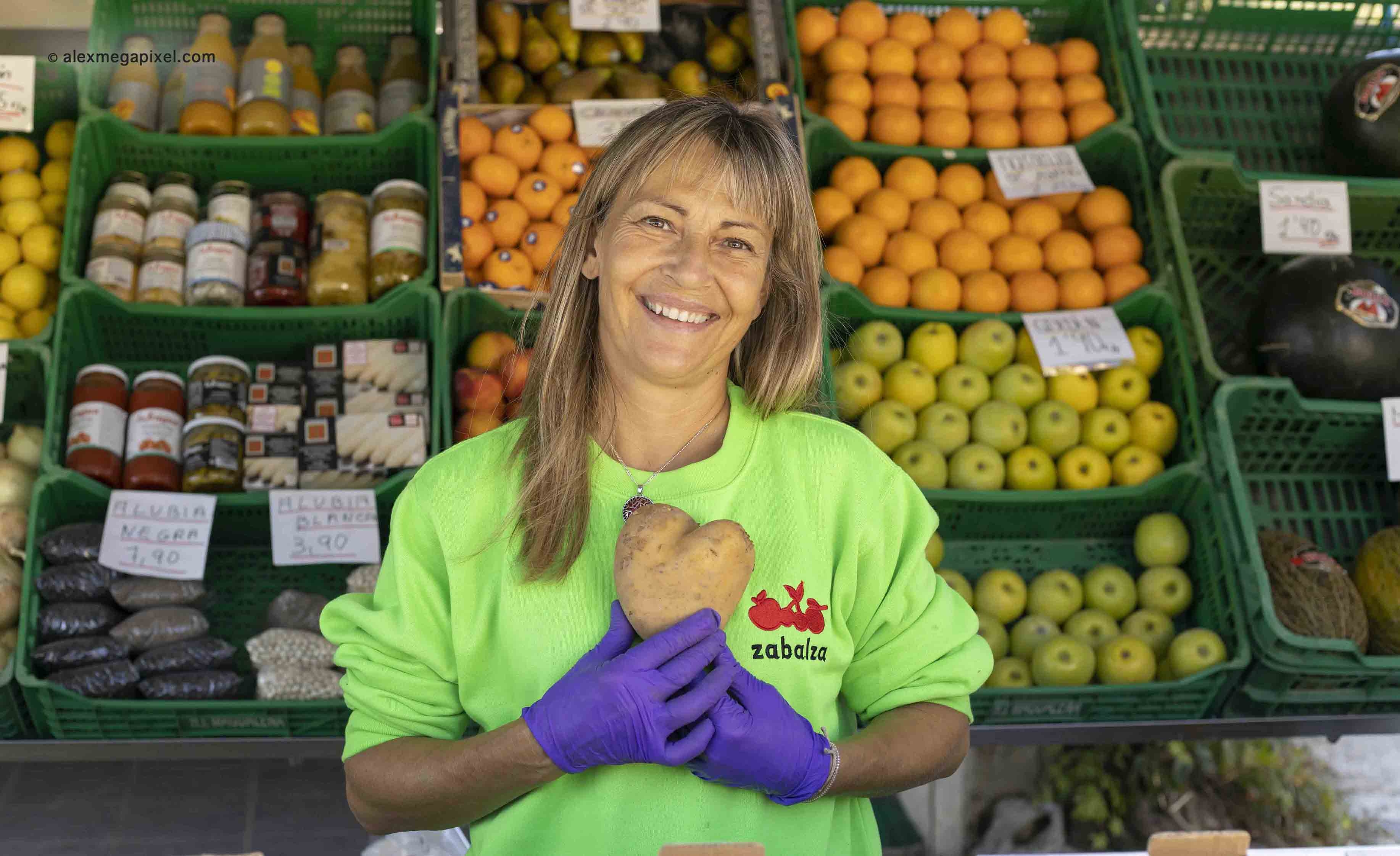 Frutas y verduras Zabalza