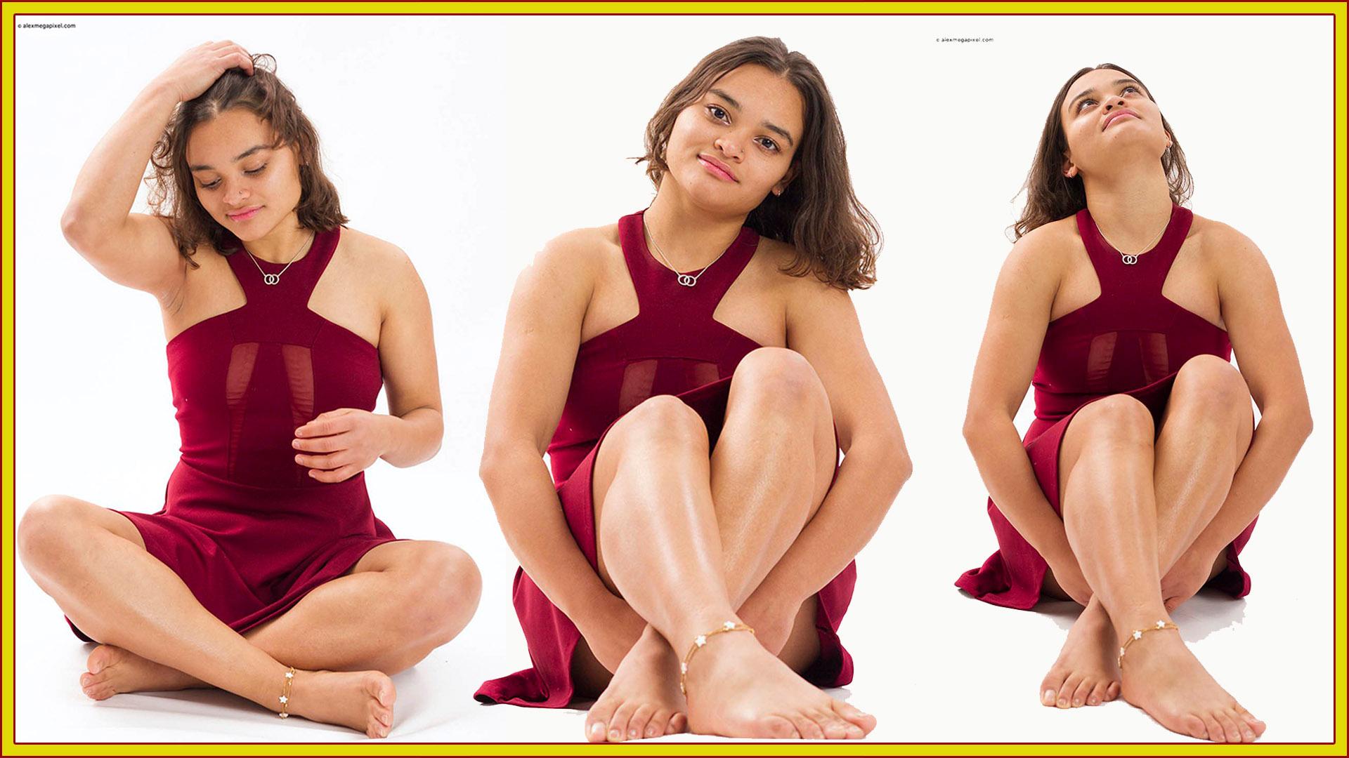 Brs. 2019-12-17 Ana Moura vestido rojo